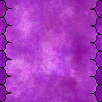 Mauve, Arch, Lavender, Oriental, Purple, Amethyst