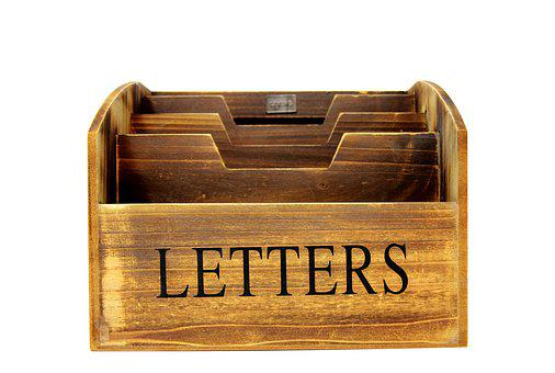 Letter Box, Box, Letters, Wood, Mailbox, Collect, Sort