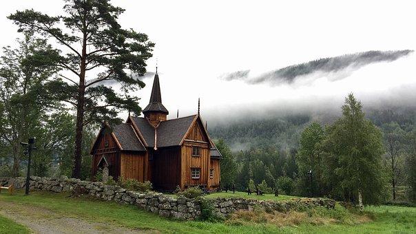 Tree, Wood, Home, Nature, Architecture, Viking Church