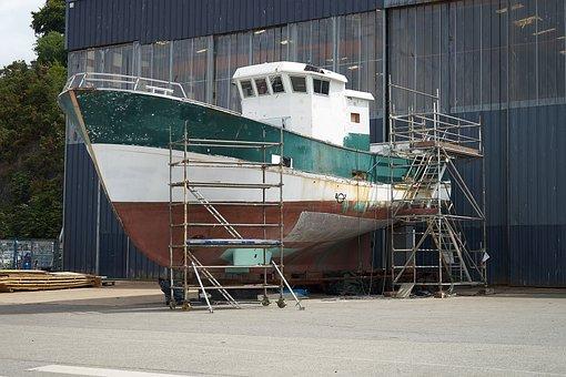 Industry, Transport, Ship, Sea, Boat, No Person