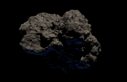 Asteroid, Rock, Astronomy, Space, Universe, Science