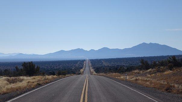 Road, Highway, Asphalt, Nature, Travel, Sky, Landscape