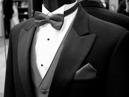 Tailor, Bow Tie, Tie, Groom, Best Man, Wedding, Style