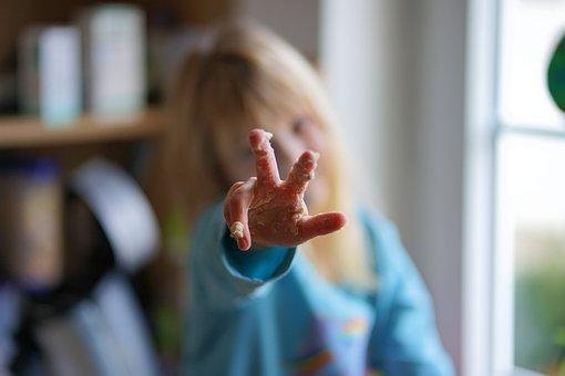 Finger, Child, Hand, Pose, Symbol, Three
