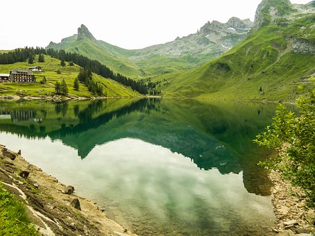 Nature, Landscape, Waters, Mountain, Travel