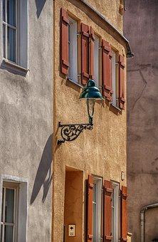 Architecture, House, Window, Door, Shutter