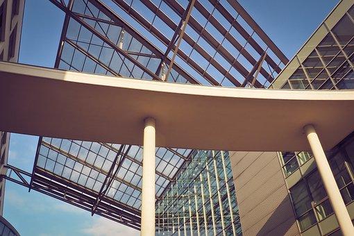 Glass, Architecture, Modern, Building, Steel