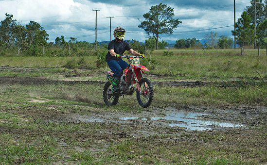 Motocross, Dirtbike, Motorcycle, Wheel, Sport, Dirt