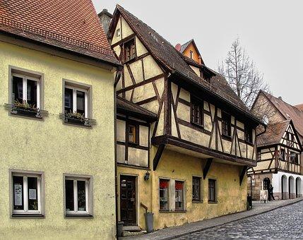 Historic Center, Fachwerkhaus, Historically, Building