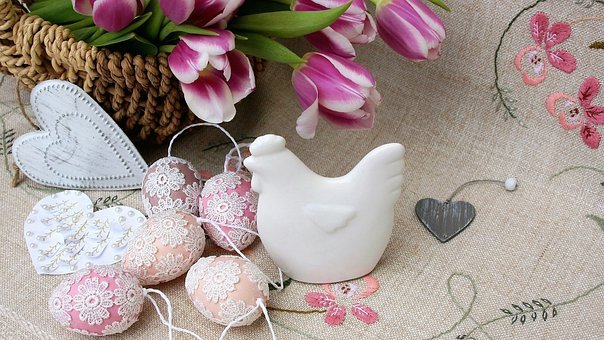 Easter Eggs, Easter, Flowers, The Ceremony, Bouquet