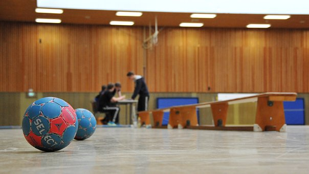 Handball, Hall, Ball, Balls, Within, Sport, Play
