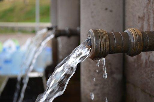 Industry, Steel, Water, Pipe, Daniel, Old, Fountain