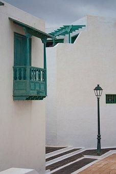 Balcony, Architecture, Lanzarote
