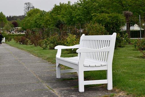 Nature, Wood, Summer, Lawn, Garden, Park, Nobody, Chair