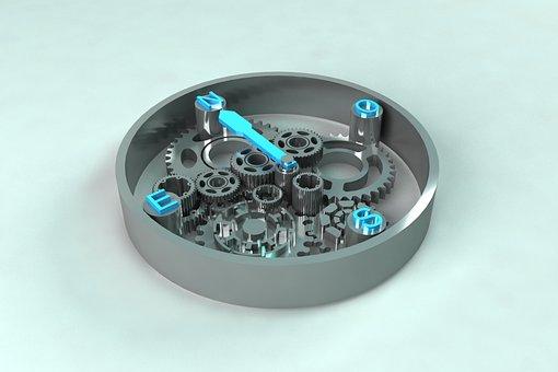 Compass, Technology, Team, Round
