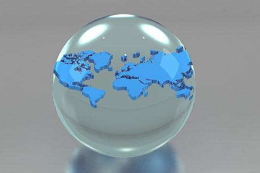 Earth, Spherical, Sphere, Planet
