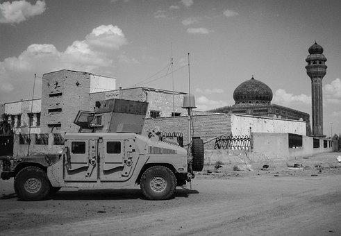 Vehicle, Transportation System, War, Military, Building