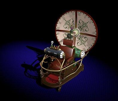Time Machine, Time Travel, Hollywood, Utopia, Machine