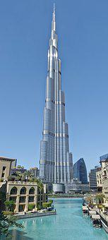 U A E, Dubai, Burj Khalifa, Architecture, City