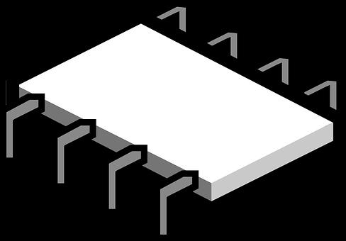 Microchip, Component, Computer, Chip, Processor