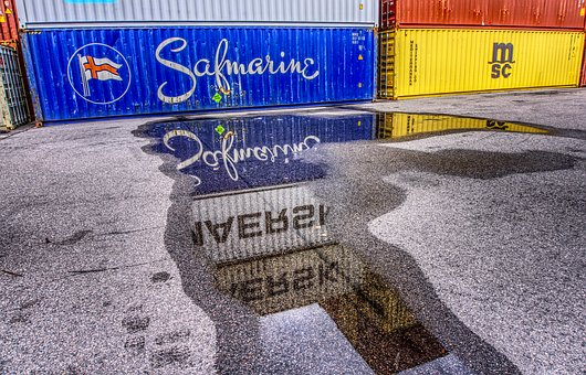 Container, Port, Loading, Container Terminal