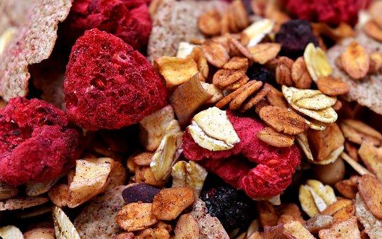 Muesli, Healthy, Food, Eat, Müesli, Cereals, Oatmeal