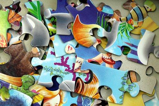 Puzzle, Education, Fun, Toys, Children, Entertainment