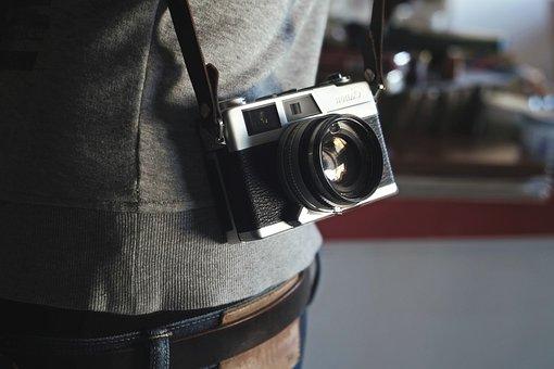 Camera, Lens, Equipment, Photography, Photo, Film