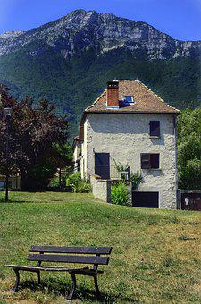 Grenoble, Countryside, Alps, France, French, House