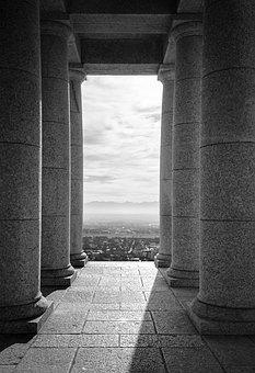 Granite Columns, Rhodes Memorial, Building, Monument