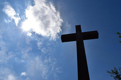 Christian Cross, Heaven, Resurrection, Spirituality