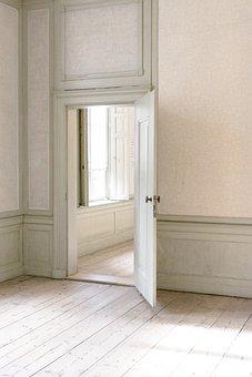 Indoors, Door, House, Wood, Doors, Perspective, Passage