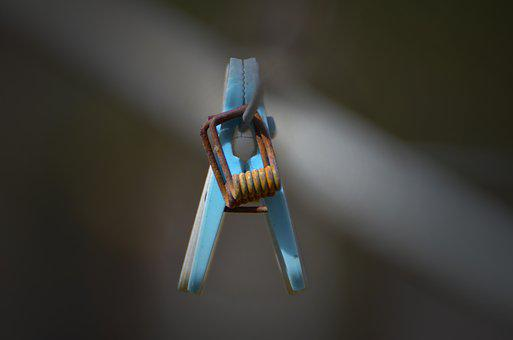 Outdoors, Abstract, Connection, Clothes Peg, Pattern