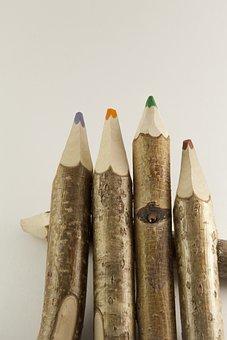 Background, Color, No One, Pencils, Colored Pencils