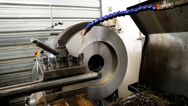 Industry, Grinder, Steel, Technology, Production, Iron