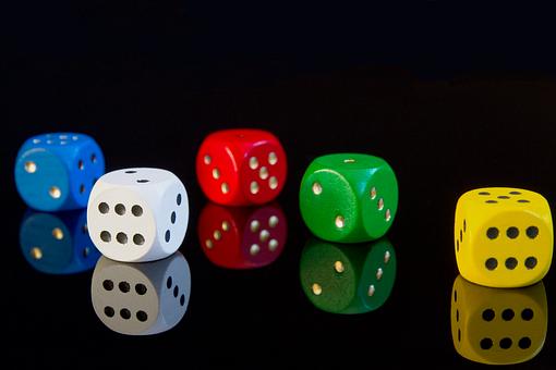 Cube, Gambling, Gamble, Risk, Luck, Game Bank, Profit