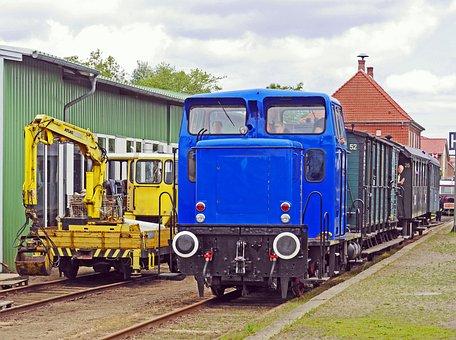 Diesel Locomotive, Railway Museum, Schönberger Beach