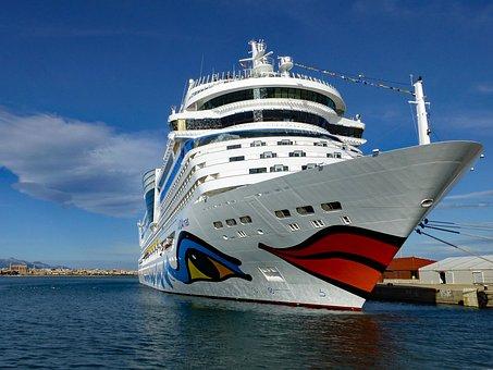 Aida, Port, Palma, Mallorca, Spanish, Capital, Cruise