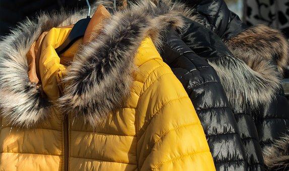 Fur, Winter, Garment, Down Jacket, Anorak