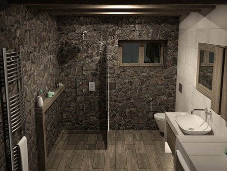 House, Bathroom, Architecture, Indoors, Room
