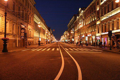 Street, Megalopolis, Architecture, Travel, Horizontal