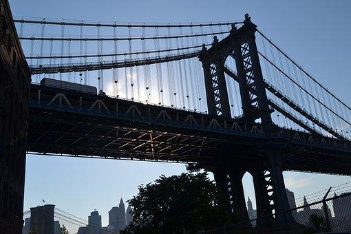 Bridge, Suspension Bridge, Architecture, Sky