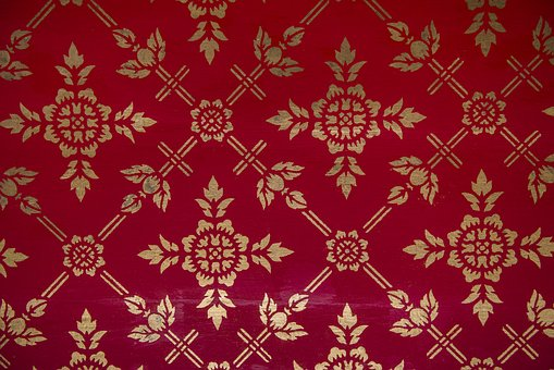 Pattern, Decoration, Textile, Ornate, Abstract, Asia