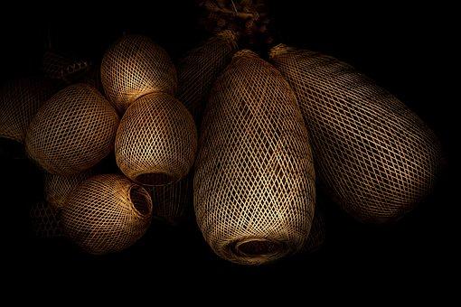 Wicker, Bamboo Weave, Woven, Of Deposit, Basket Weave