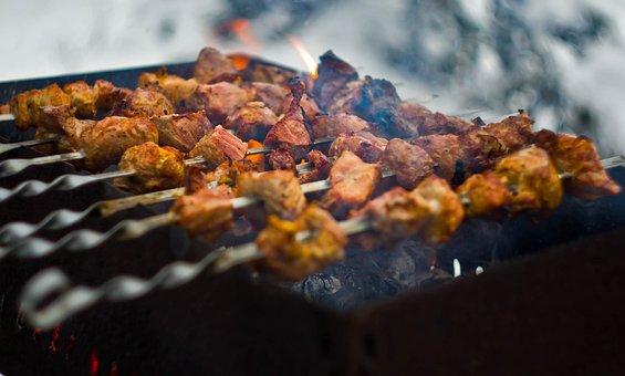 Food, Bbq, Flash, Cooking, Coal