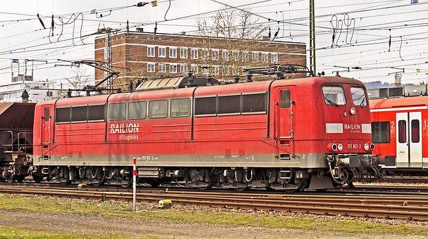 Electric Locomotive, Goods Train Locomotive