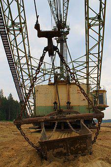 Excavator, Equipment, Quarry, Heavy Machinery