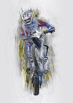 Dirt Bike, Motocross, Motorcycle, Extreme, Sport