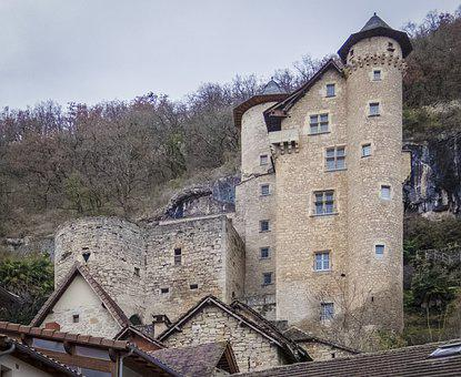 Castle, Gothic, Old, Architecture, Wall, House
