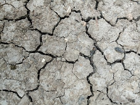 Earth Surface, Drought, Geology, Rough, Dry